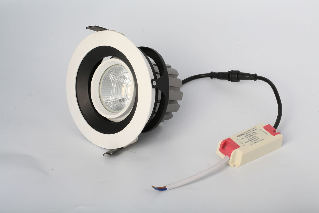 Miniature Epistar 5 Inch 15W Dimmable Led Downlight White For Commercial Lighting